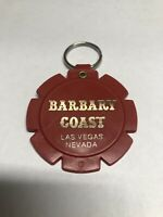 Vtg Plastic Barbary Coast Casino Keychain Las Vegas NV