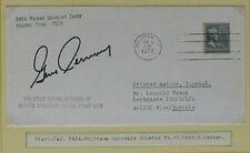 s1215) Raumfahrt Space Apollo 17 Start Houston 6.12.1972 Autopen Gene Cernan