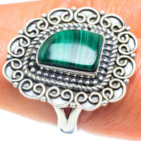 Malachite 925 Sterling Silver Ring Size 9 Ana Co Jewelry R59063F