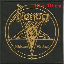 VENOM - WELCOME patch - FREE SHIPPING