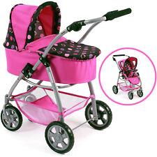Bayer Chic 2000 Puppenwagen Emotion 2in1 pink Balls Buggy Puppenkinderwagen NEU