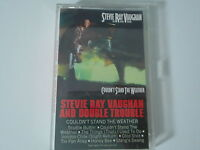 Stevie Ray Vaughan and Double Trouble  Couldn't Stand The Weather Cassette Audio