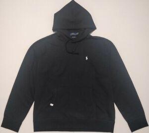 Polo Ralph Lauren Mens, performance,Genuine Pullover Hoodie in BLACK,size Medium