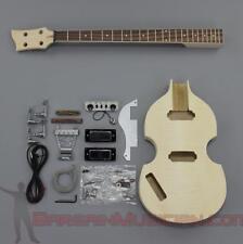 Bargain Musician - BK-006L - LEFT DIY Unfinished Project Luthier BASS Guitar Kit