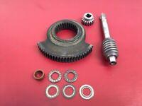 OMC Stringer 260  240 250 100 90 120 Tru-Coarse Steering Worm Gear & Worm Wheel