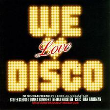 We Love Disco [Megahit] by Various Artists CD 2005, 2 CDs FREE Shipping!
