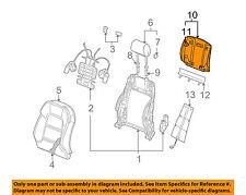 AUDI OEM 09-13 A3 Front Seat-Seat Back Panel Trim 4F0881969CL77