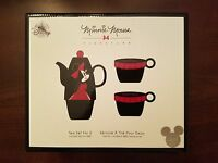 Disney D23 Expo EXCLUSIVE Minnie Mouse Tea for Two Teapot & Mug Set LE 1000