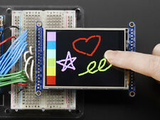 "Adafruit 2.8"" TFT LCD Display Touch Screen Breakout w/MicroSD Socket Arduino"