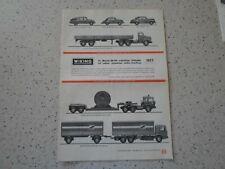WIKING Verkehrs Modelle 1/87 H0 Katalog / Prospekt 1977 Top