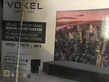 Vokel VK-42 Platinum Series Digital Home Theater 7.1 High Definition System