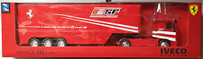 NewRay - Iveco Stralis Race Truck Scuderia Ferrari 1:32 / Spur 1 Neu/OVP
