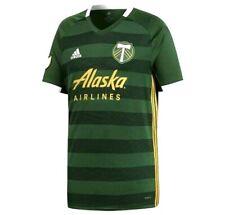 Adidas Climalite Portland Timbers Men's Size 2XL XXL Home Soccer Jersey DX1489