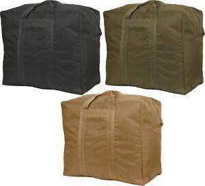 Deluxe Aviator Flight Bag Enhanced Travel Carry Duffle Cargo Military Bag