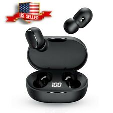 Bluetooth Earbuds TWS Wireless Headphone 5.0 Noise Canceling Waterproof Headset