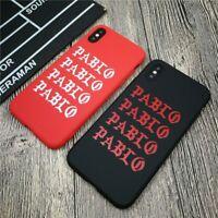 Kanye PABLO soft case for iphone 11 Pro X XS 6s 7 8 Plus Fashion American rapper