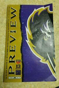 1998 Baltimore Ravens Preview Magazine