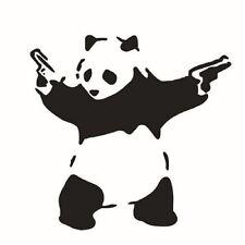 New Car Art Panda Car Sticker Decals Waterproofon Door Carved Car Stickers