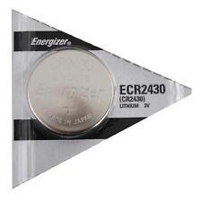 Energizer CR 2430 CR2430 ECR2430BP 3V Lithium Coin Cell Battery