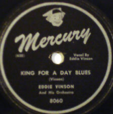 EDDIE VINSON King For A Day Blues MERCURY 78-8060 Railroad Porter's Blues