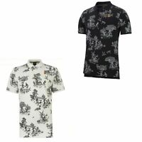 Nike Court Heritage Tennis Polo Shirt Mens Activewear Top Tee Black Small