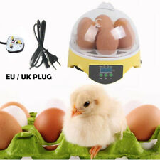7 Egg Incubator Semi Automatic Digital Turning Chicken Duck Poultry Hatcher AU