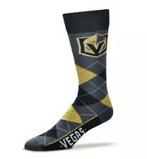 Las Vegas Golden Knights NHL Hockey Argyle Socks