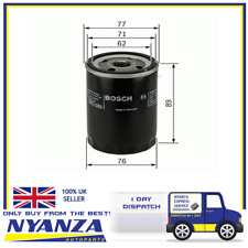 GENUINE OE BOSCH OIL FILTER P3079 - HAS VARIOUS COMPATIBILITIES
