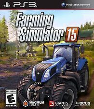 Farming Simulator 15 - PlayStation 3 NEW