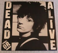 "Johnny Thunders ‎– Dead Or Alive Real Records UK ‎– ARE 1 1978 Vinyl 7"" Glossy"