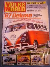 Volksworld VW Mag - Best brake set ups - 67 Deluxe bus - Beetle - Drag Ghia
