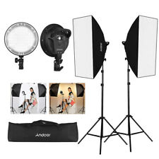 Studio Photography 2 Softbox Continuous Photo Lighting Kit w/ Carrying Bag B2W4