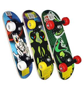 "Kids Childrens Junior Mini Satchel Skateboard 17"" x 5"" Outdoor Beginners Skate"