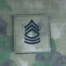 A-TACS FG Black Pattern U.S.ARMY Rank Military Embroidery Patch Insignia