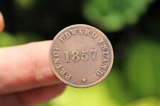 Canadian coin, Self-Government and free trade, Prince Edward Island F/EF+, 1857