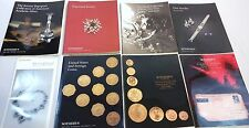 Sotheby's Fine Jewelry, Silver, US & Foreign Coins - Lot of 8 Books 1994-96