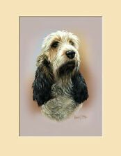 Original Basset Griffon Vendeen Painting by Robert J. May
