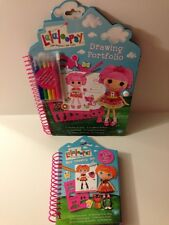 Lalaloopsy Drawing Portfolios - Set of 2 (Jewel Sparkle & Bea Spells a Lot)