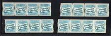 Complete Set PNC 4 Scott #2005, 20c Consumer Ed, Plate #1-4, FVF MNH Cat $36.00
