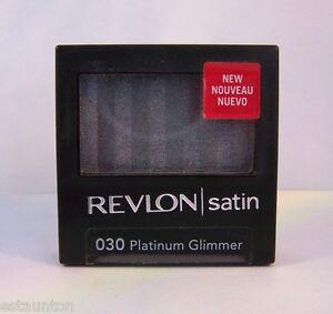 Revlon Luxurious Color Satin Powder Eye Shadow Single - Platinum Glimmer 030
