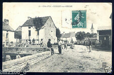 COTE D'OR . 21 . LUSIGNY-SUR-OUCHE ..  rare !