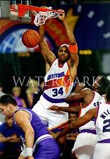 Sir Charles Barkley Dunk Phoenix Suns 8x10 Color Photo Basketball