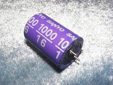 1 pc of 16V 1000uF SANYO SA Large Aluminum Solid Capacitor