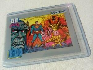 1991 Superman Darkseid DC Comics Heritage Trading Card #148 Near Mint+ 9.8 Impel