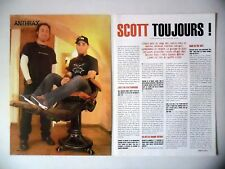 COUPURE DE PRESSE-CLIPPING :  ANTHRAX [4pages] 03/2003 Scott Ian,We've Come For