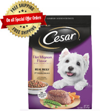 Gourmet Dry Dog Food Made With Real Beef By Cesar For Small Breed 12-Lb