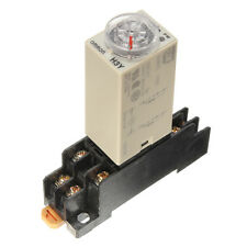 H3Y-2 DC 12V Delay Timer Time Relay 0 - 60 Minute with Base