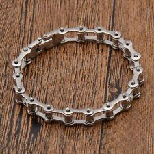Biker Motorcycle Chain Bracelet Bangle Punk Titanium Steel Bracelet Men Bangle