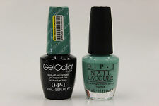 (GCN45 + NLN45) - OPI GELCOLOR + NAIL LACQUER - MY DOGSLED IS A HYBRID 0.5 oz