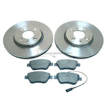 FIAT 500 1.4 , 1.4 16V ABARTH 2007-2015 FRONT 2 BRAKE DISCS & PADS (284MM ONLY)